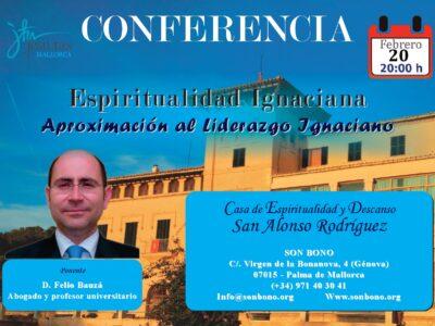 Conferencia: Espiritualidad Ignaciana